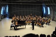 Konsert med OPO og Nordstrand janitsjar i Ridehuset, Akershus festning 15.04.2015