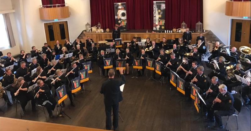 Oslo Politiorkester og våre venner i Longyearbyen storband, konsert på Huset i Longyearbyen 15.09.2018