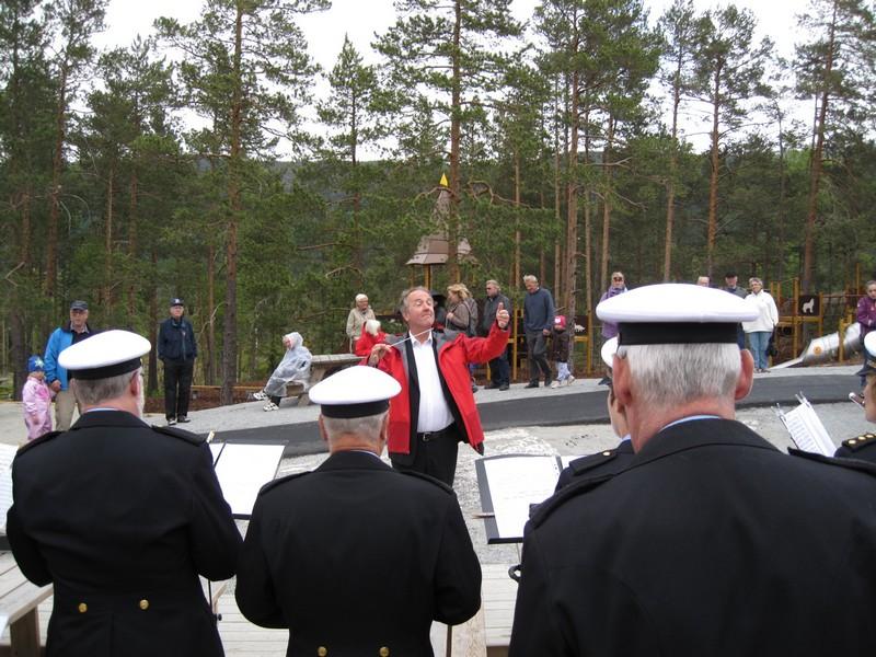 Oslo Politiorkester spiller i Bjørneparken 03.06.12