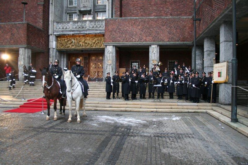 Utdeling av Nobels fredspris 10.12.05 (Foto: Audun Heggtveit)