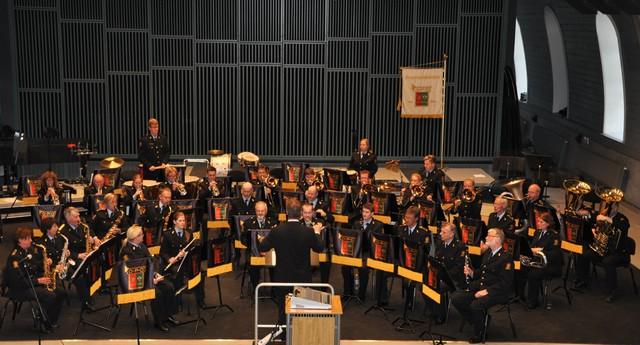 Konsert med Kampen Veteranorkester, Ridehuset 050513